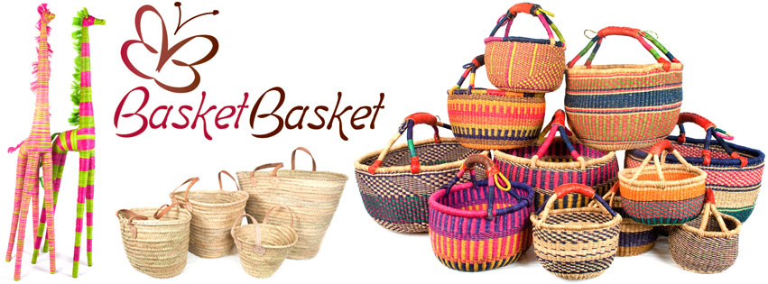 Basket Basket fair trade bags and baskets