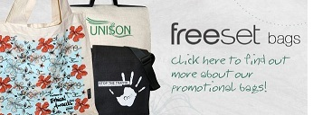 Freeset Bags. Fair trade bags.
